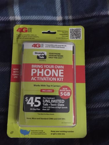 straight talk sim card kit