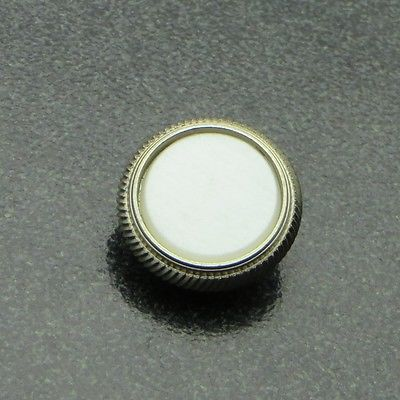 Genuine Blessing Trumpet Button (1) Nickel Silver NEW! BD7