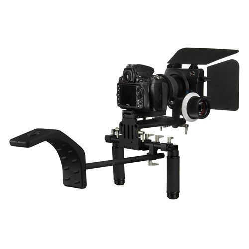 Fotodiox WonderRig Elite, Premium Grade Professional Video Rig, Shoulder Support