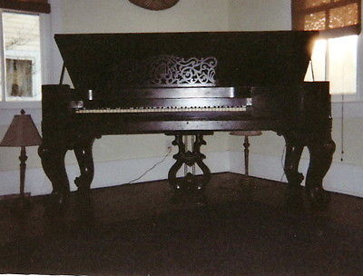 1859 Steinway Square Grand piano  Gorgeous Rosewood & Mahogany