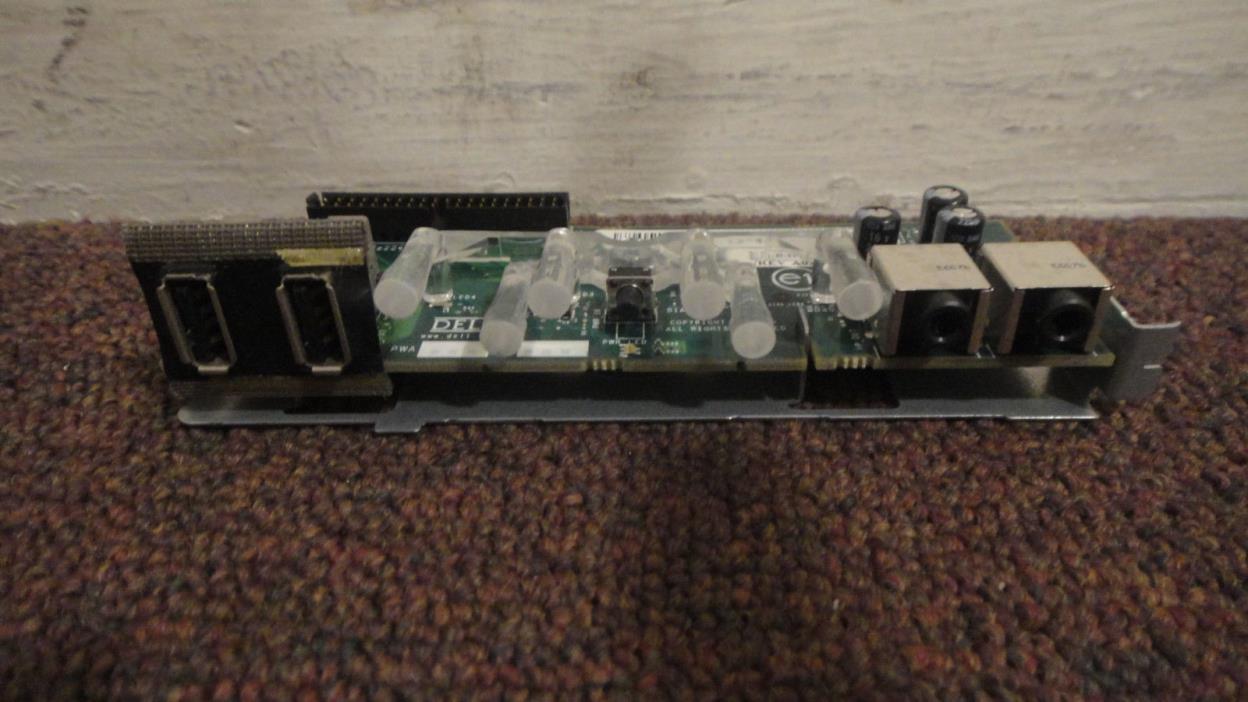 Dell Optiplex, Front USB/AUDIO I/O CONTROL PANEL, W/Ribbon cable. Look!!!
