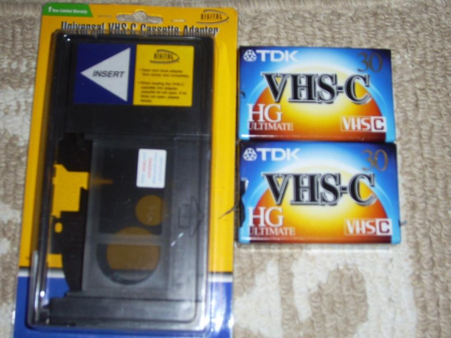 New Digital Concepts , Manual Operated, Universal VHS-C Cassette Adapter VC-14