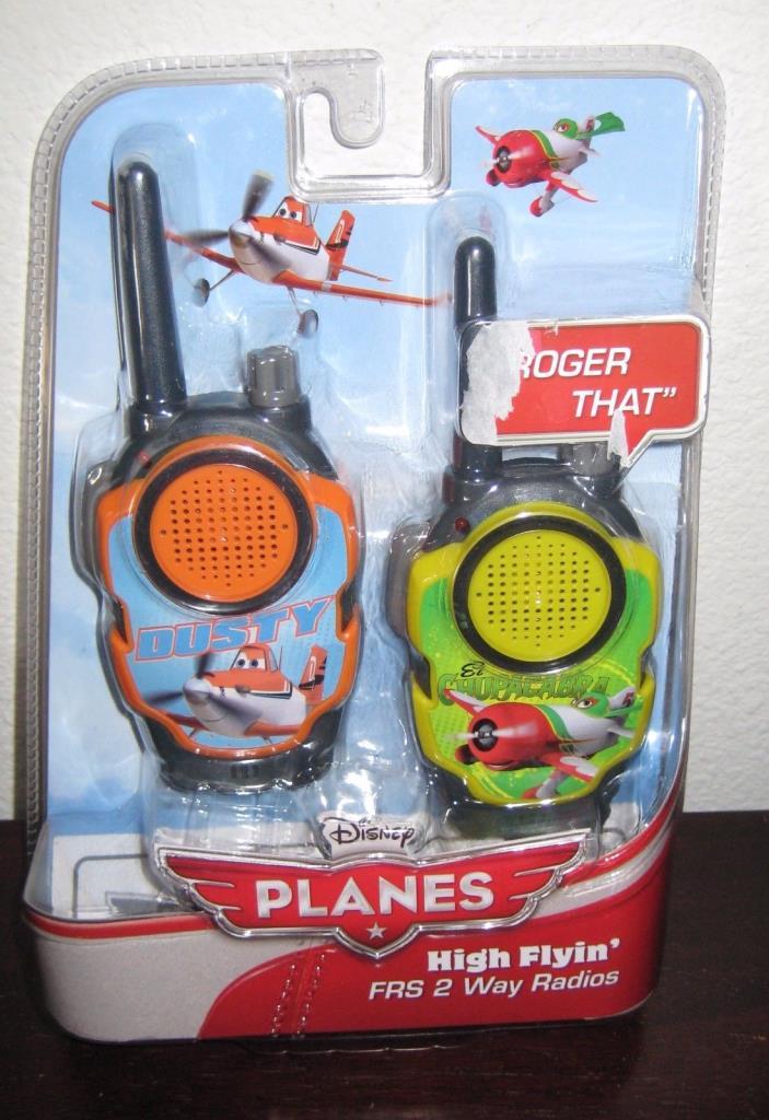 eKids Disney Planes High Flyin' FRS 2 Way Radios Walkie Talkies NEW!