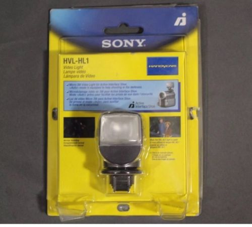 Sony HVL-HL1 3 Watt Video Light - Free Shipping