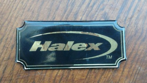 Vintage Halex Foosball Table Emblem Decals