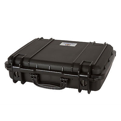 Seahorse SE710 Watertight Protective Equipment Storage Case without Foam, Black