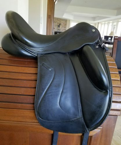 2014 Custom Saddlery Wolfgang Solo 17.5