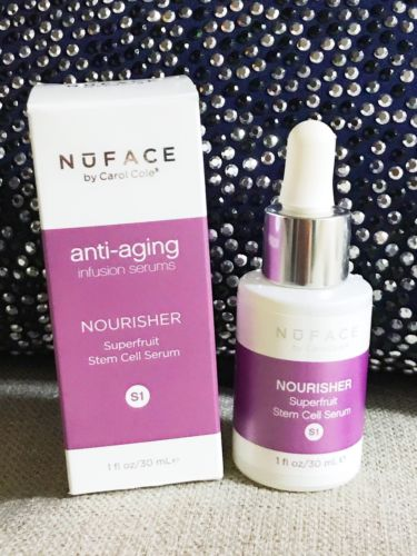 Nuface Anti-angling Infusion Serums nourisher Superfruit stem Cell Serum S1 1oz