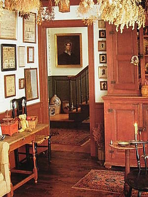 AMERICAN COUNTRY DECORATING BOOK - FURNITURE - FLOORS - ANTIQUES AND MORE