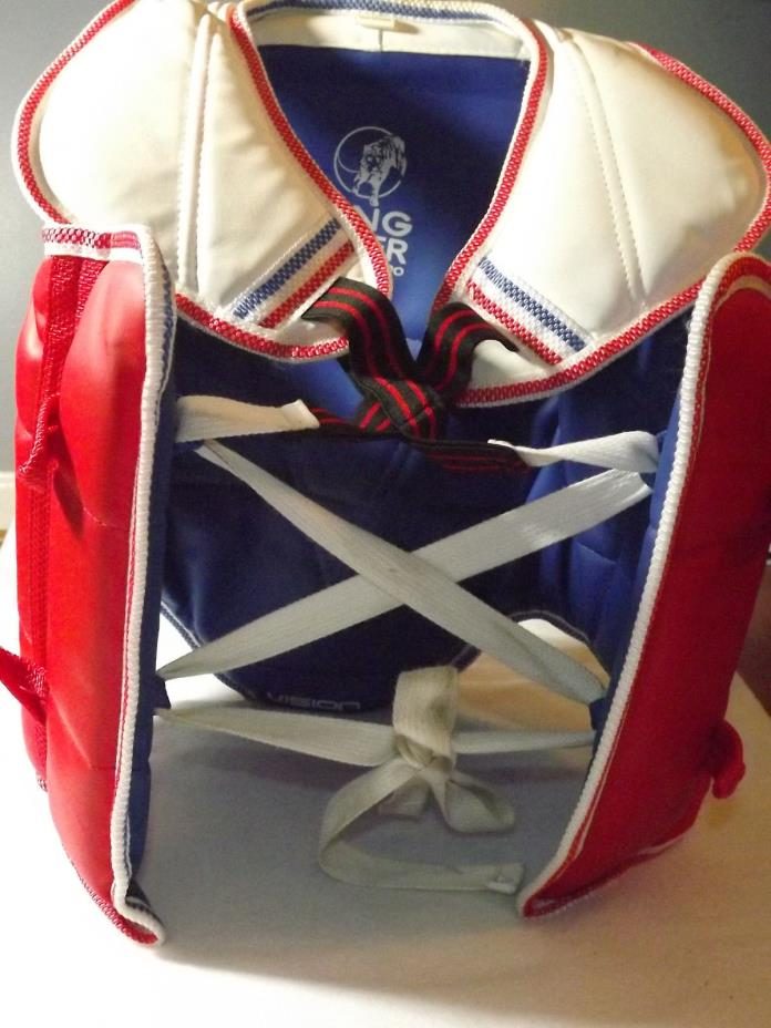 Tae Kwon Do Karate kickboxing Chest Shield Protector  Small
