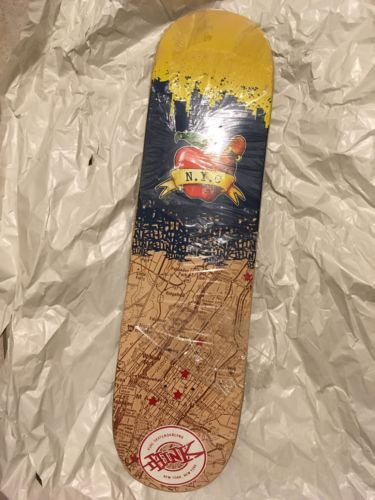 RARE NOS Think Skateboards Vintage Skateboard Deck
