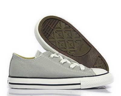[736567F] CONVERSE ALL STAR CT OX MIRAGE GRAY TODDLERS INFANT SNEAKER SIZE 10
