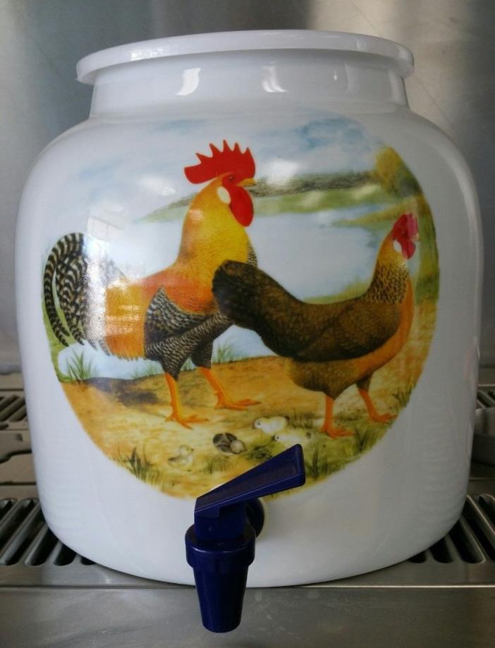 pocelain water crock dispenser