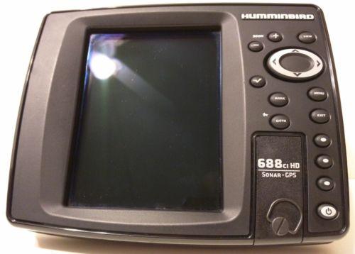 HUMMINBIRD 688CI HD 688 Fish Finder Depth