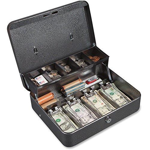 FIRCB1210 - FireKing Stop Hinge Design Locking Cash Box