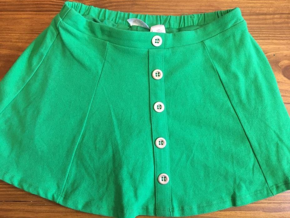 NWOT Girls Justice Brand Skort Kelly Green Size 6