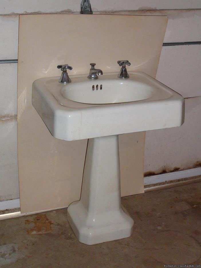 Porcelain Pedestal Sink For Sale Classifieds