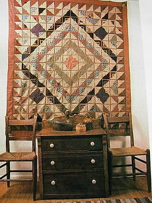 AMERICAN COUNTRY BOOK - COUNTRY QUILTS - BEAUTIFUL PHOTOGRAPHS!