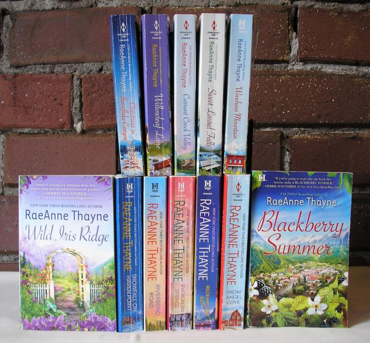 RaeAnne Thayne Lot 12 PB Romance Complete Hopes Crossing & Haven Point Series