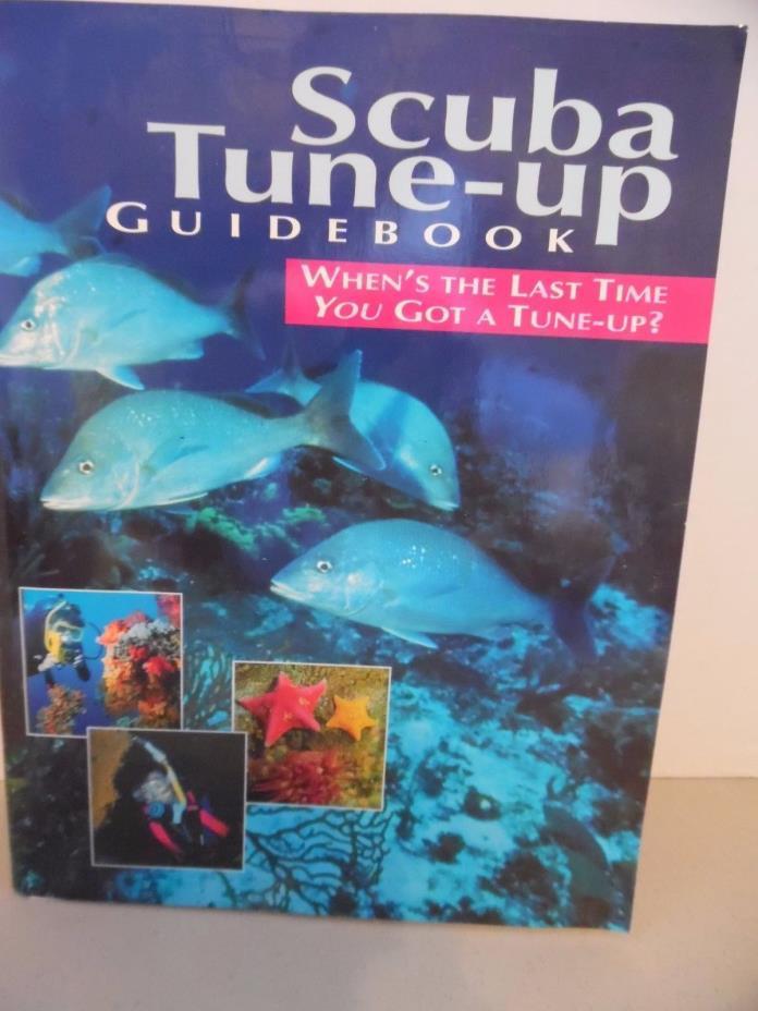 PADI SCUBA TUNE-UP GUIDE BOOK TRAINING MATERIALS FOR SCUBA DIVERS