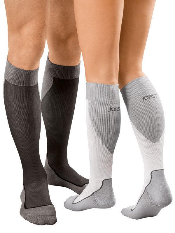 15-20mmHg Jobst Sport Unisex Supportwear Compression Stocking Knee-Hi Close Toe