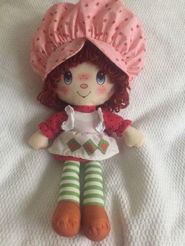 Strawberry Shortcake 2015 Plush Characters Doll American Greetings 15