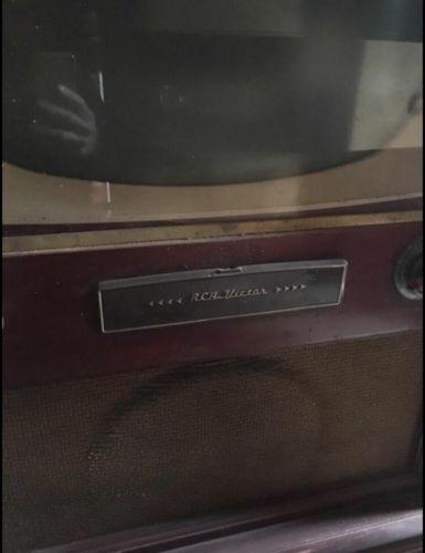 vintage rca victor tv