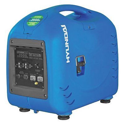 Hyundai Generator 2200 Watt Super Quiet Gas RV Inverter Camping Survival Hunting
