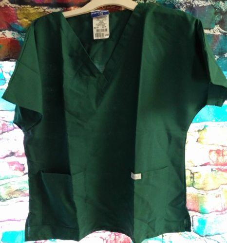 Women's Size Large LANDAU Scrubs Top Shirt
