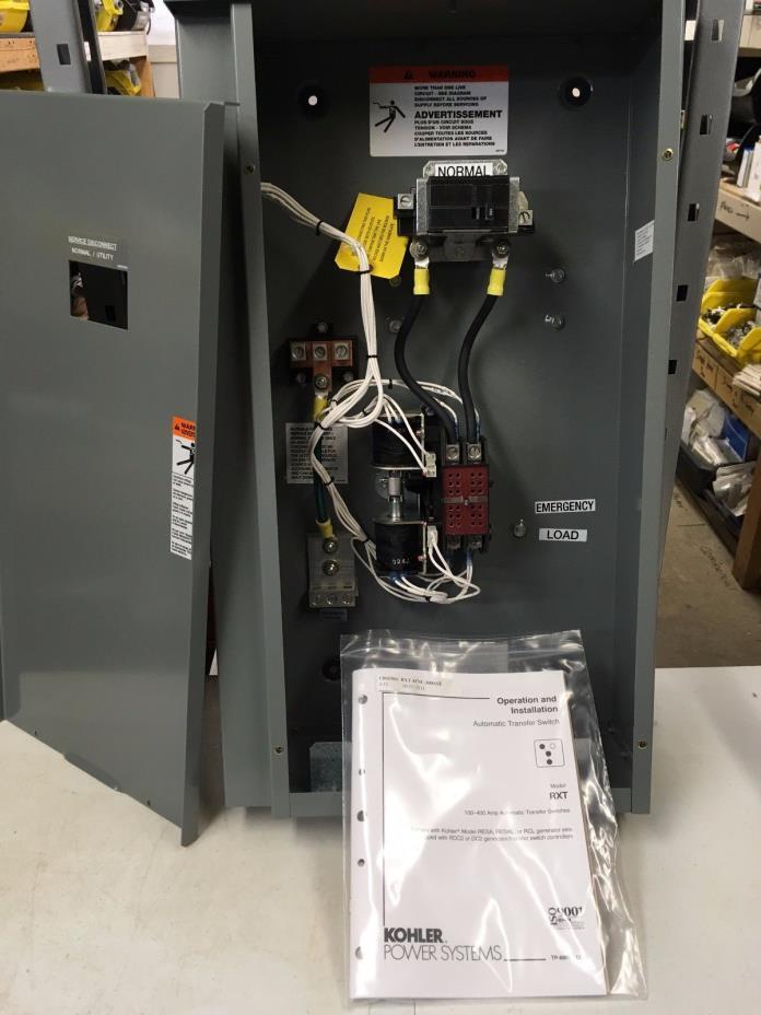 Kohler Single Phase Automatic Transfer Switch