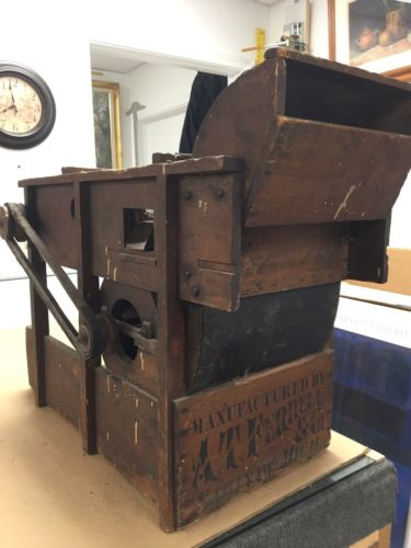 Antique Clipper A T Ferrell Farm Seed Cleaner Sorter 30L23h15h