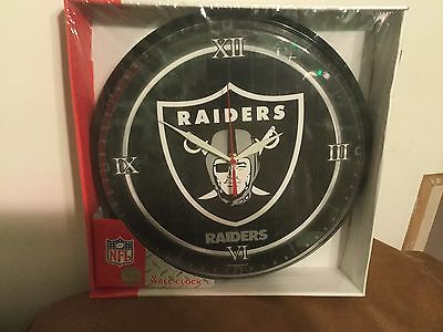 Oakland Raiders Big Advertising Wall Clock