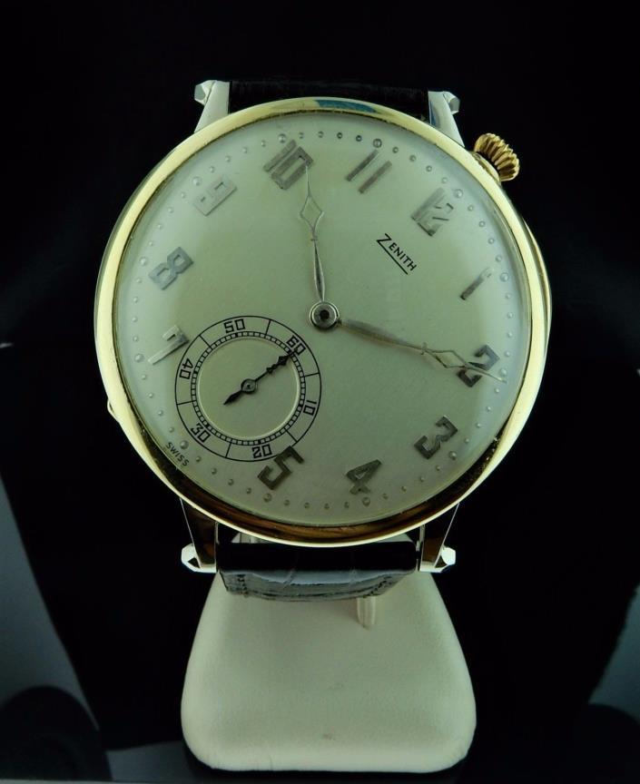 Vintage 1920's Mens Zenith Watch