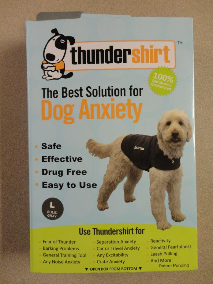 Thundershirt for Dogs - Anxiety Solution!! - Size Large  - 41 - 64 lbs.
