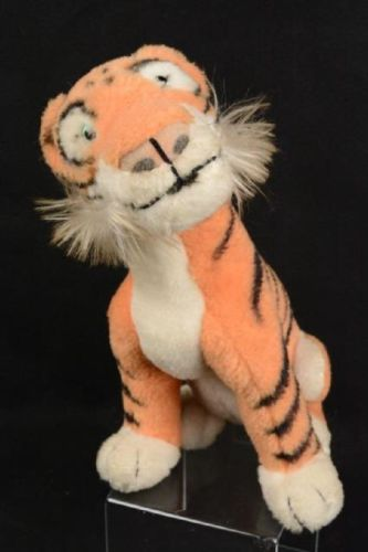 Steiff Tiger Walt Disney Shere Kahn Tiger With Button Made in Germany