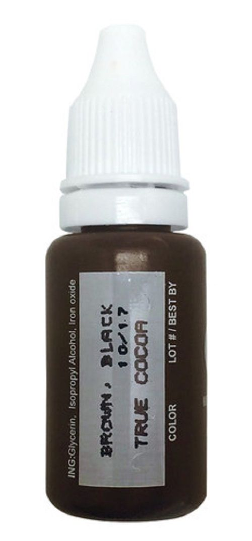 BioTouch Permanent Makeup TRUE COCOA Micro Pigment Cosmetic Color Ink 1/2 oz