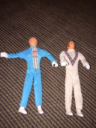 Vintage 70's Ideal Evel Knievel Rare #1 BLUE SUIT 7