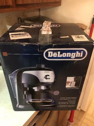 DeLonghi EC220CD 4 Cups Espresso Machine - Black