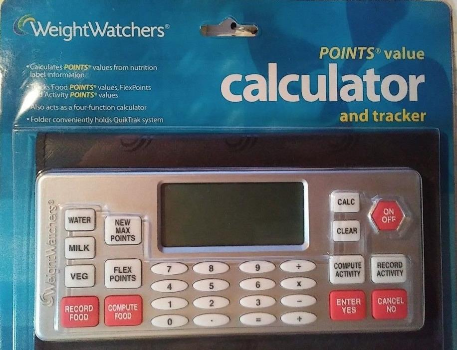 NEW Weight Watchers FlexPoints Calculator Free Shipping