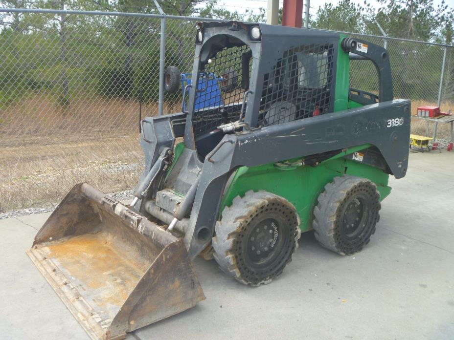2011 John Deere 318D Skid Steer Loader Diesel