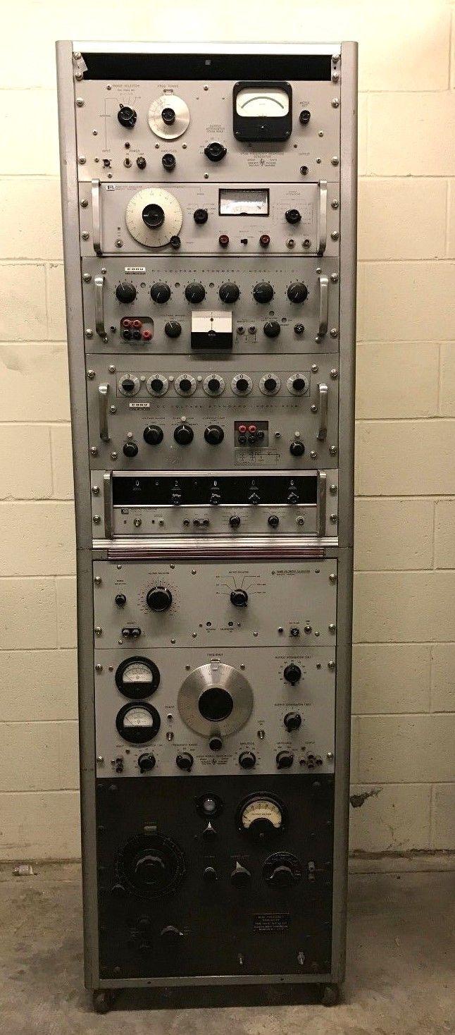 Ham Radio Rack Calibrator Tester HP Hewlett Packard COHO Agilent RARE POWERS ON!