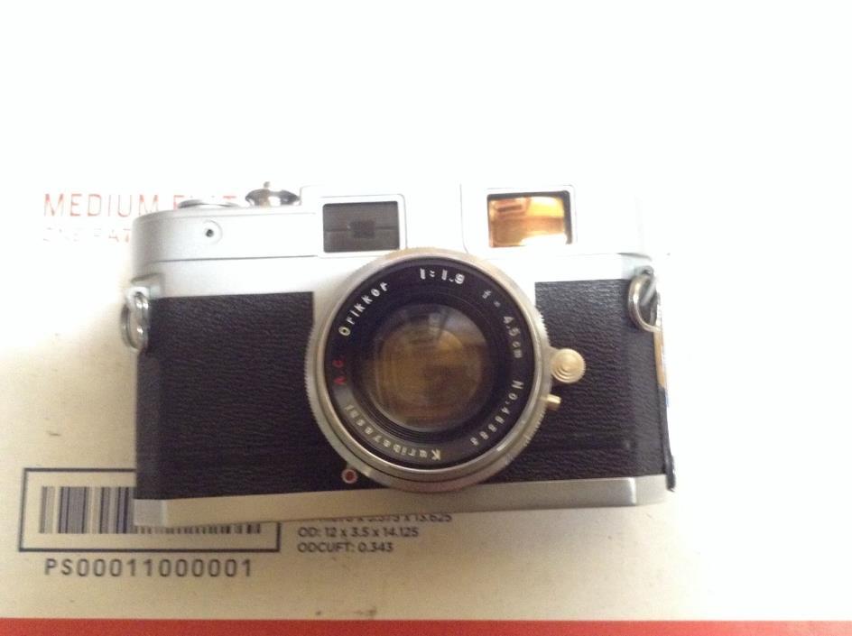 Petri Automate Range Finder Camera Rare