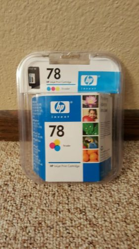 NEW HP 78 Ink Cartridge, Tri-color, Expired