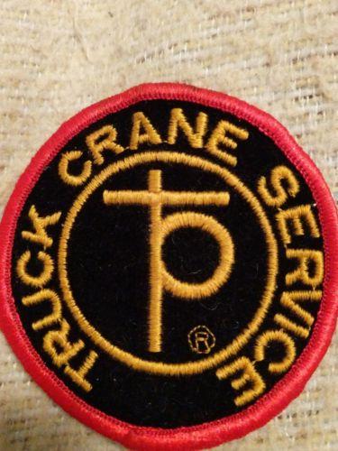Truck Crane Service Patch
