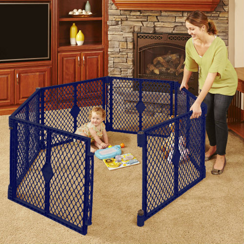 Portable Indoor Outdoor Safe Play Yard High Quality Lightweight Easy Setup