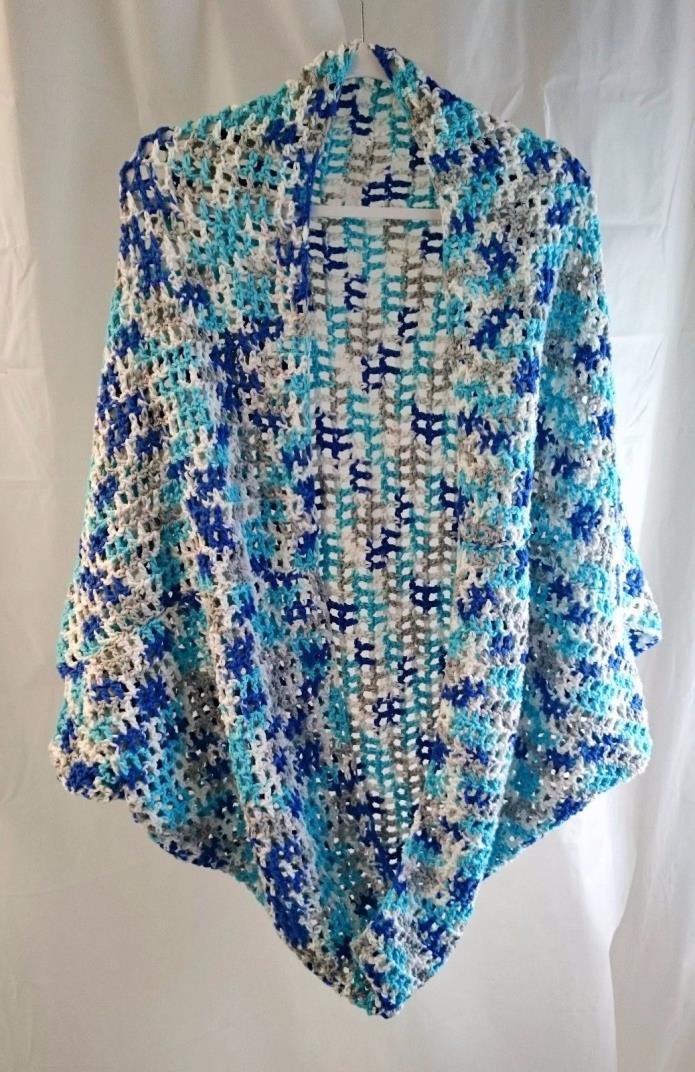 Handmade Oversized Crochet Shrug