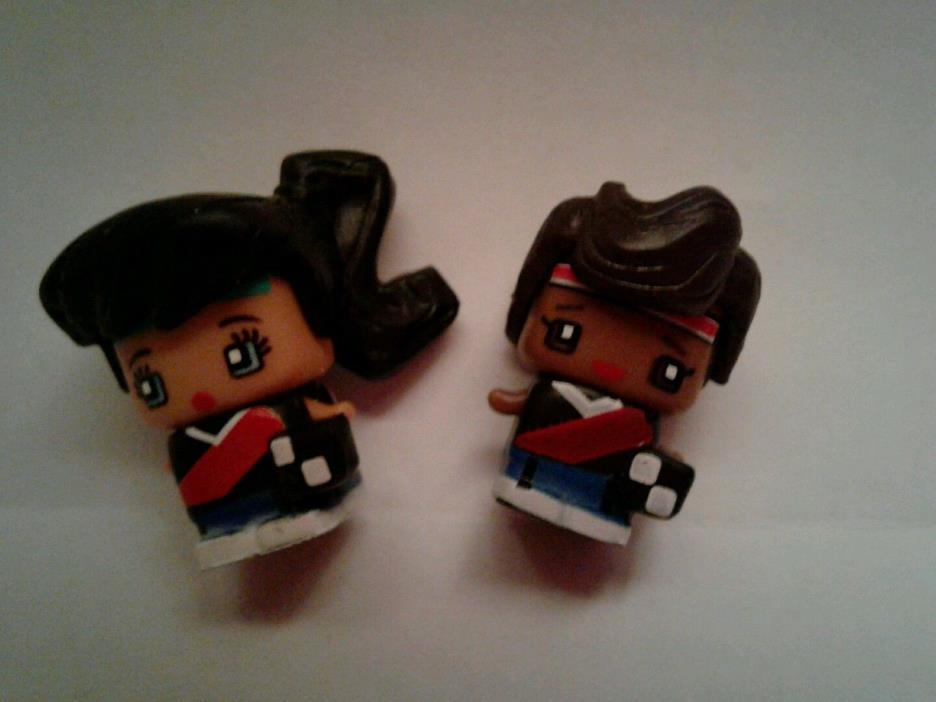Mini Mixieqs Mixie Qs Soccer Girl and Boy Doll Lot Mattel