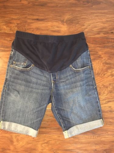 Woman's Old Navy Maternity 2 Denim Shorts