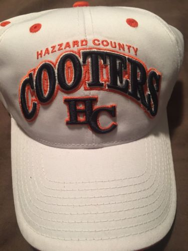 Dukes of Hazzard Cooters Hat Hazzard County BRAND NEW! RARE!