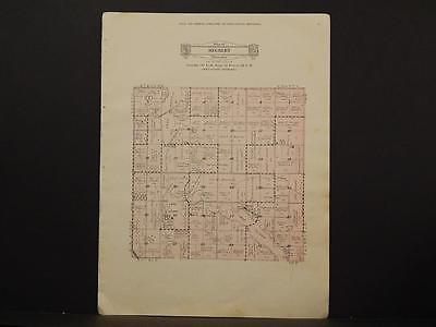 Minnesota Swift County Map Hegbert Township 1931 Y6#61